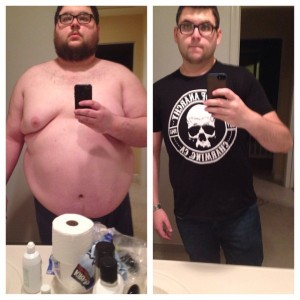 Mike weight loss